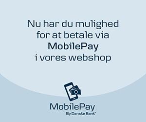 Her kan du betale med Mobilepay Online