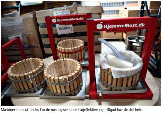 Glasogflasker.dk i JydskeVestkysten
