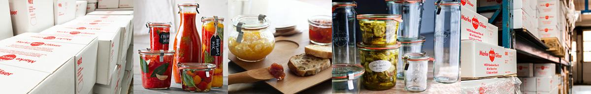 Sylteglas.dk er din online forhandler af WECK glas