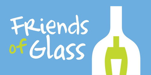 Vi er medlem af Friends of Glass