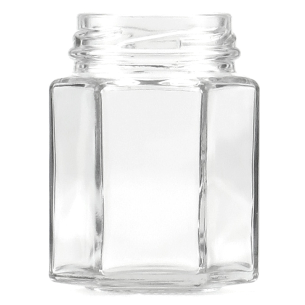 Syltetøjsglas 110ml - 6-kantet (TO48)