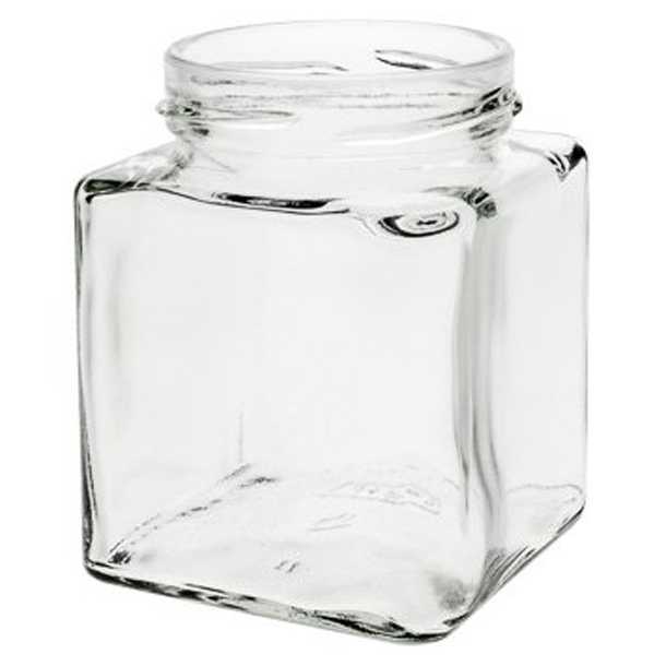 212ml Kvadratisk glas (TO58)