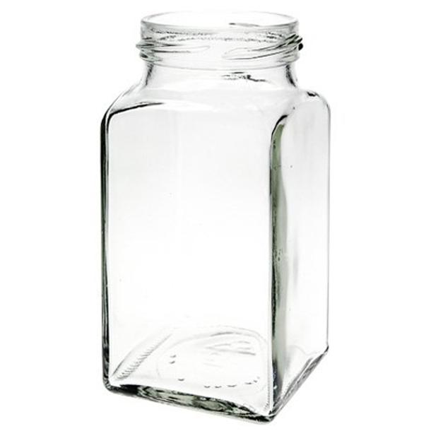 312ml Kvadratisk glas (TO58) - sælges kun i hele paller