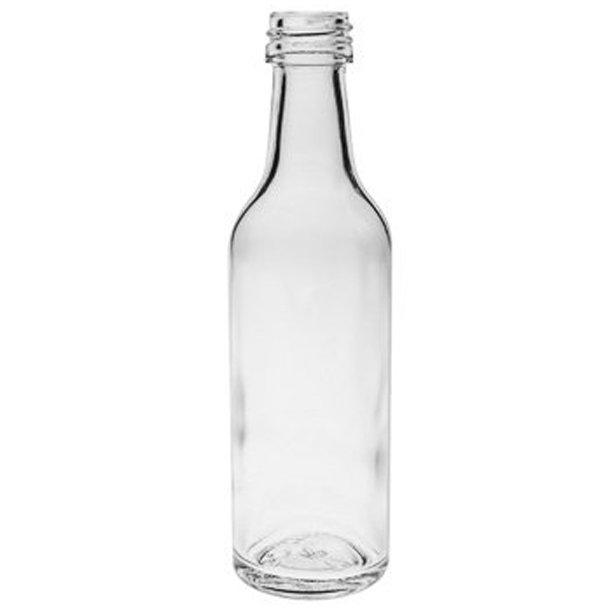 Gerad flaske 50ml - inkl. skruelåg (PP18)