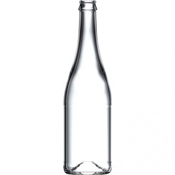 Champagneflaske 750ml CC 560g (Klar)