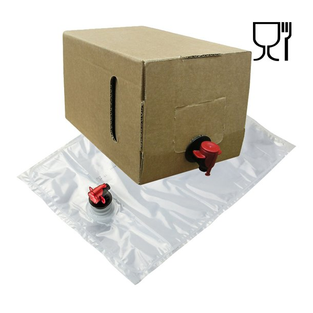 Bag-in-Box 10 Liter pose og karton (Neutral)