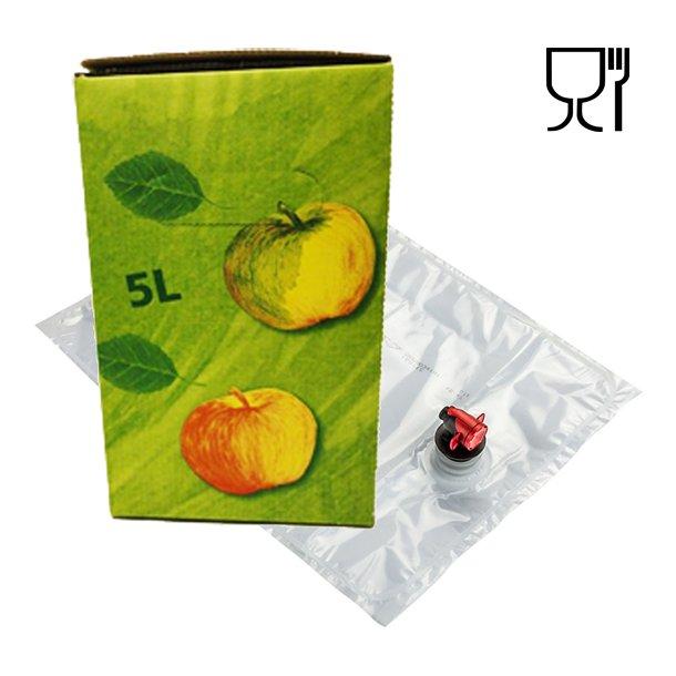 Bag-in-Box 5 Liter pose og karton (Grøn) - MIDLERTIDIG UDSOLGT