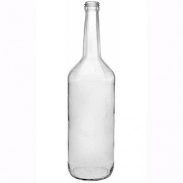 Gerad flaske 500ml - inkl. skruelåg (PP28)
