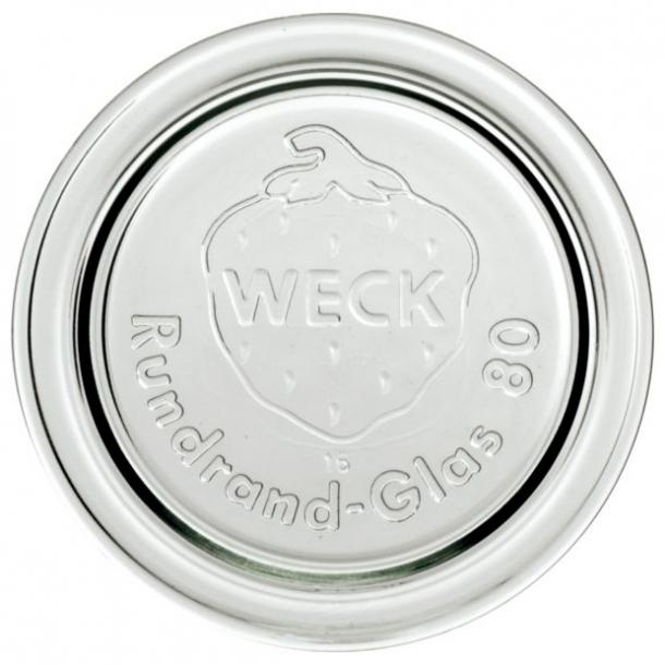 WECK glaslåg RR80