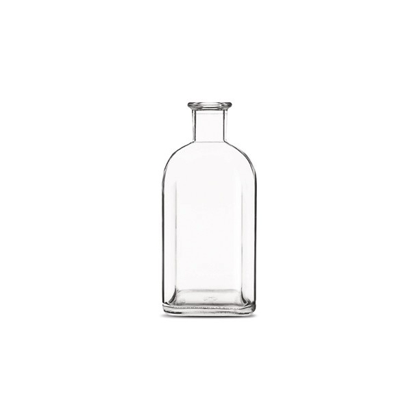 Apotekerflaske 700ml Kvadratisk (19mm)