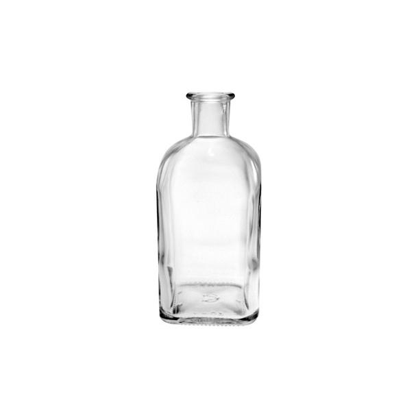 Apotekerflaske 500ml Kvadratisk (19mm)