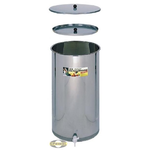 Rustfri beholder 170 liter
