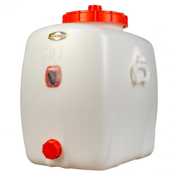 Oval beholder 60 liter
