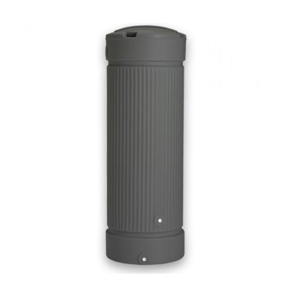 Regnvandsbeholder 300 liter (Antracitgrå) - inkl. tappehane