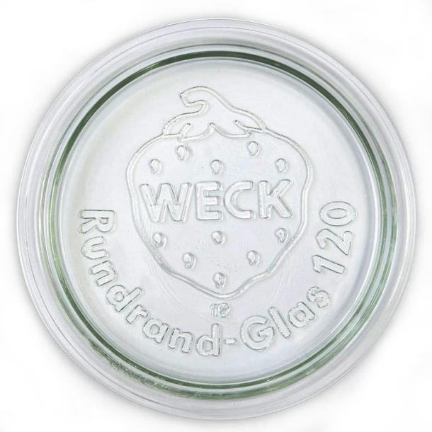 WECK glaslåg RR120