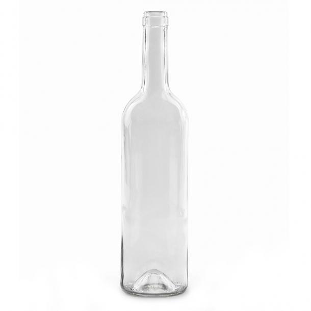Bordeaux Vinflaske 750ml 75cl (Klar) (19mm)