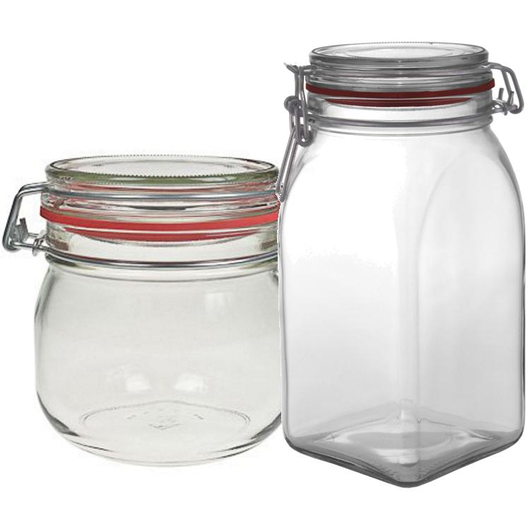 Patentlågsglas - Køb glas med patentlåg hos GlasogFlasker.dk