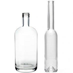 Snaps- og Spiritusflasker