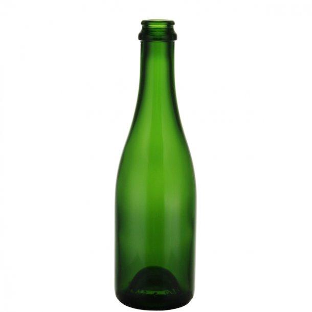 Champagneflaske 375ml CC (Grøn)