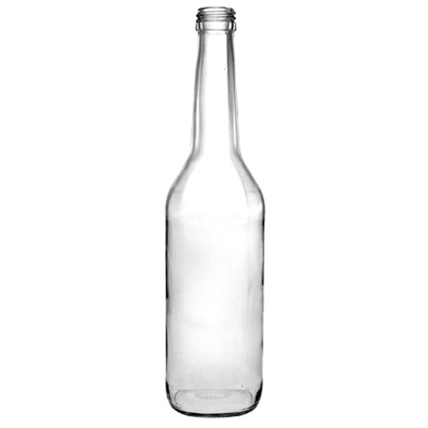 Gerad flaske 350ml - inkl. skruelåg (PP28)