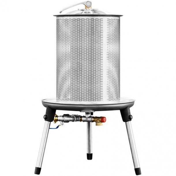 Hydropresse 20 liter (Rustfrit stål)