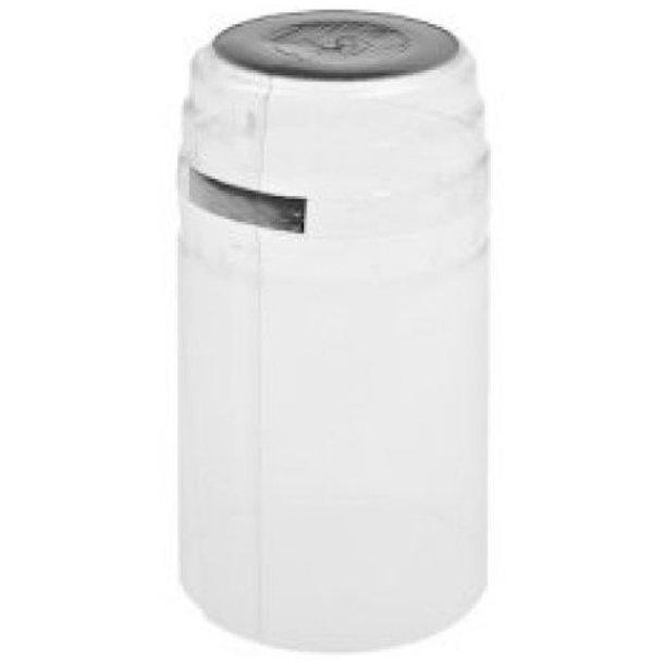 Krympehætte 31x60mm Transparent/Sølv