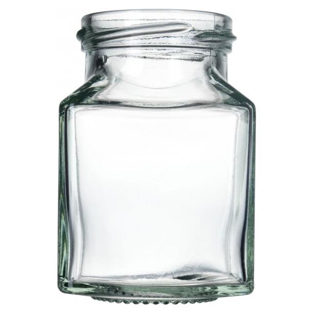 200ml Kvadratisk glas (TO53)